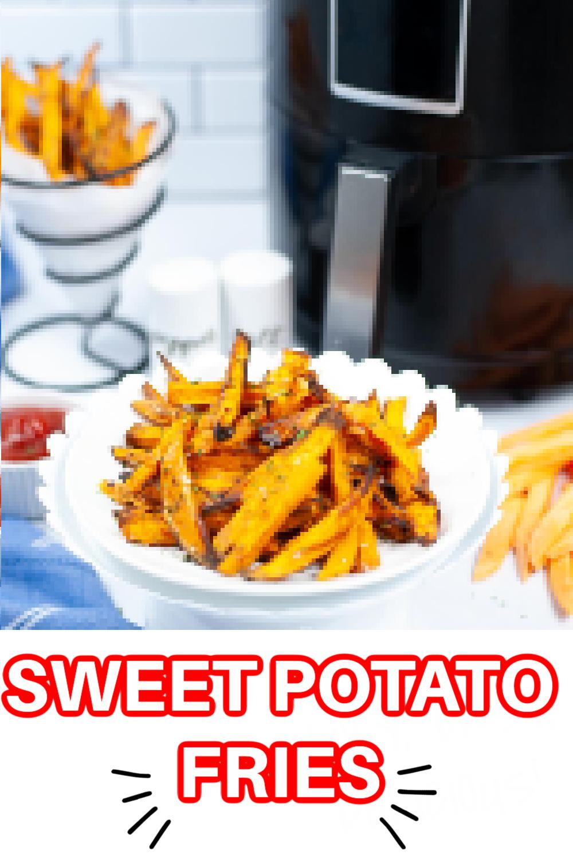 Air Fryer Sweet Potato Fries {15 Minutes}
