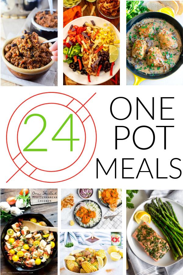24 Healthy One Pot Meals