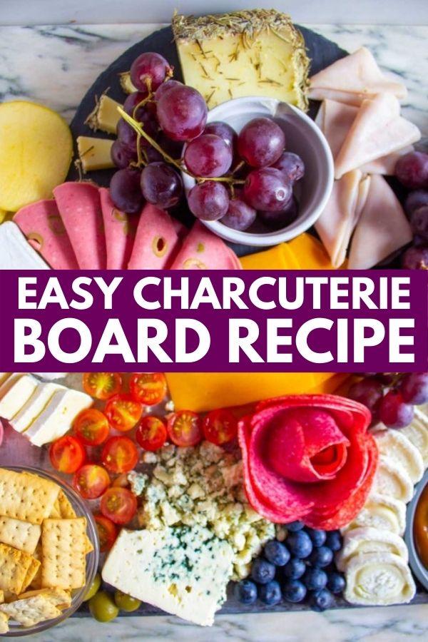 Easy Homemade DIY Charcuterie Board