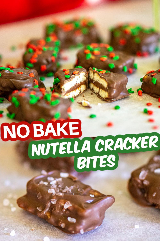 No Bake Nutella Cracker Bites {30 Minutes}