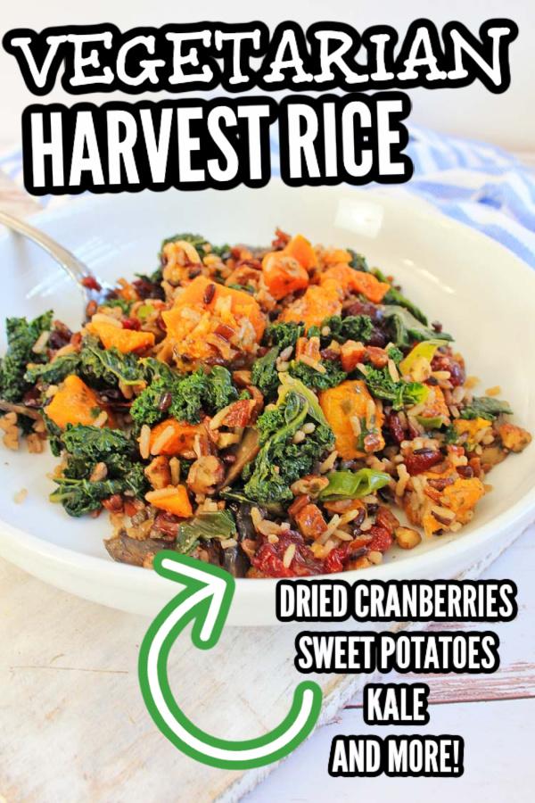 Vegetarian Harvest Wild Rice