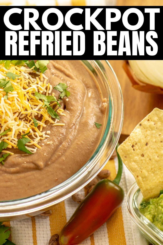 Best Vegan Crockpot Refried Beans