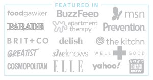 graphic showing all of the publications that feature Savor and Savvy.